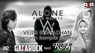 """Runa & Syakira feat. Gafarock - Alan Walker Alone (Versi Ramadhan) """"Jangan Sampai Bolong"""""""