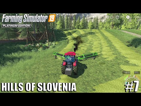 Hay Bales | The Hills Of Slovenia | Farming Simulator 19 | #7