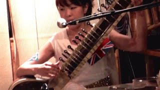 Cool Sitar & Guitar Duet! Lovely Melody
