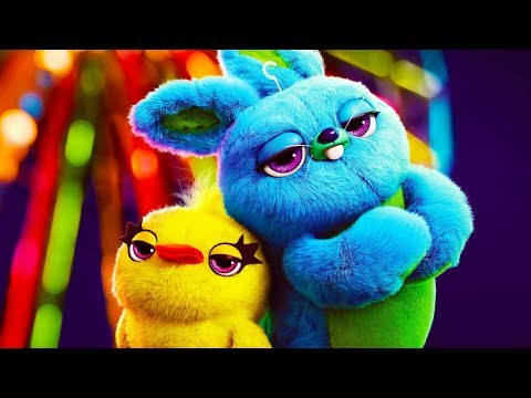 High Quality BUNNY Toy Story 4 Plush Doll Blue Rabbit Fluffy Soft Toy 10/'/' Teddy