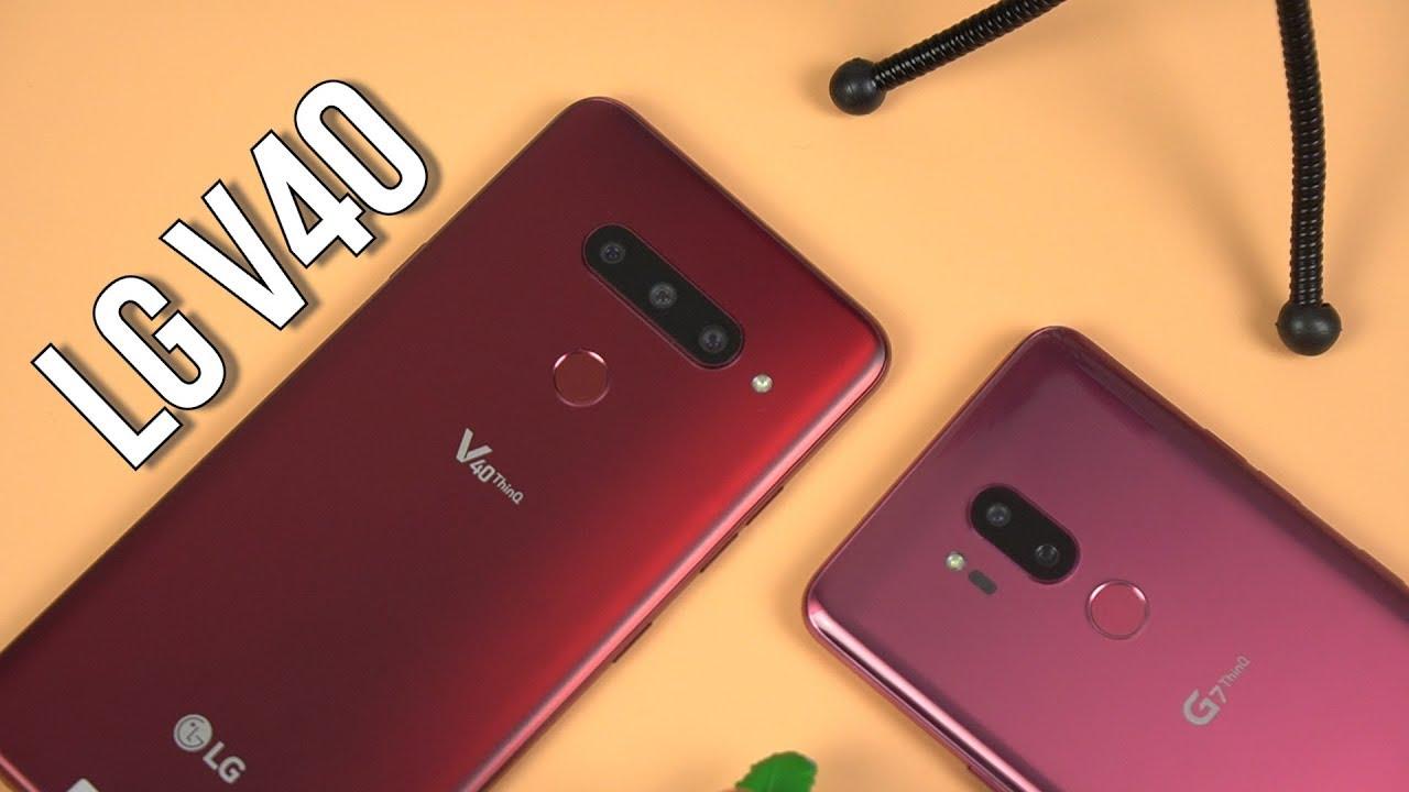 LG V40 chung cấu hình nhưng hơn gì LG G7 mà giá cao hơn?