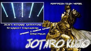 Jojo's Bizarre Adventure-Stardust Crusaders-Opening 1