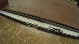 Что делать если выломан кусок профиля на окне или балконной двери?