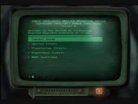 Fallout 3 Cheats, Codes, Codes de triche, Procédure pas à