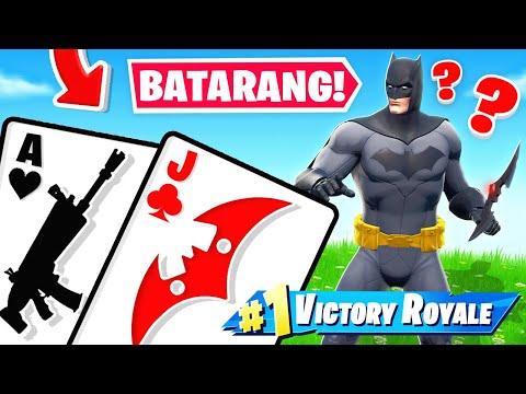 BATMAN Vs JOKER *21* Card Game (Fortnite)