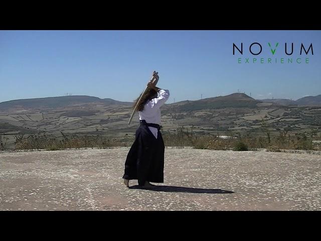 06 Roku no suburi - Aikido Novum Experience - Ken suburi nanahon -合気道-  六の素振り- 剣素振り七本