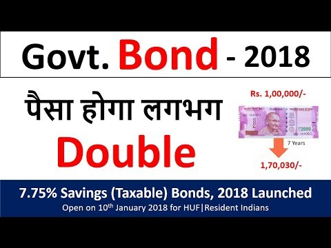 government bond explained | government schemes 2018 | What are bonds | latest bonds
