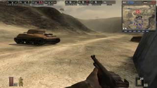 Battlefield 1942. The Rat (The Desert Rat) 2. Gameplay (Full).
