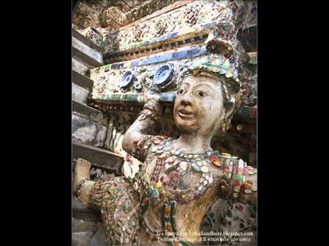 วัดโพธิ์,วัดอรุณราชวราราม กทม Wat Pho The Reclining Buddha, Wat Arun at Bangkok Thailand.