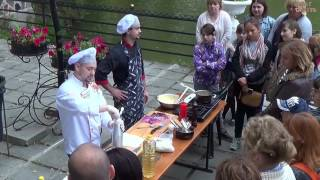 Ресторан Губернский провёл выездной мастер-класс в Лопатинском саду города Смоленска.(Ресторан