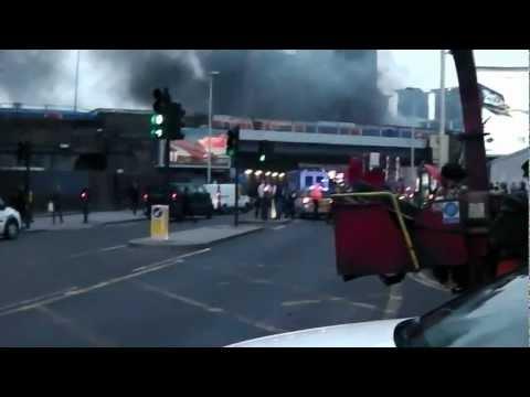 Imagenes de los primeros momentos del accidente