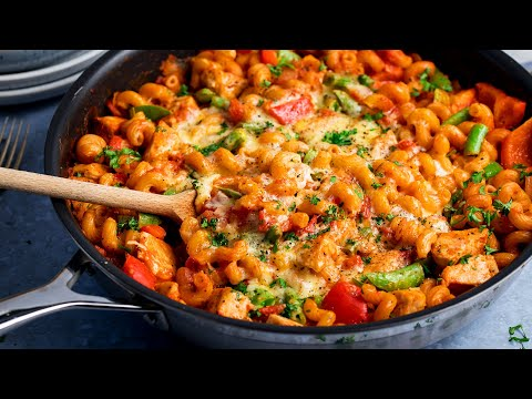30 Minute One Pot Chicken Pasta Perfect Family Weeknight Dinner!
