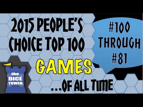 People's Choice Top 100 Games of All Time  #100-#81