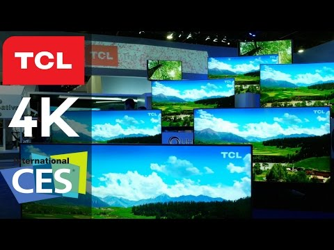 TCL X Series & C Series Roku 4K UHD TVs with Dolby Vision at CES 2017