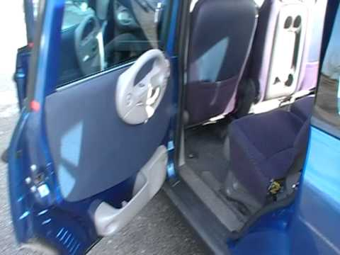 Fiat multipla interior 2003 jtd 115 youtube for Interieur fiat multipla
