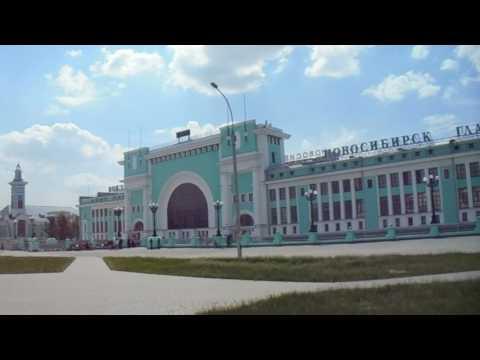 Мой родной город Новосибирск - Вокзальная магистраль и Вокзал Новосибирск Главный.