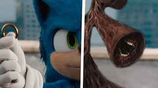 Sonic The Hedgehog Movie Choose Your Favorite Desgin For Both Characters (Siren Head Vs Sonic)