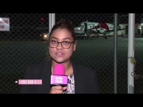 Latest relief flight from Hurricane stricken Tortola arrive in Guyana