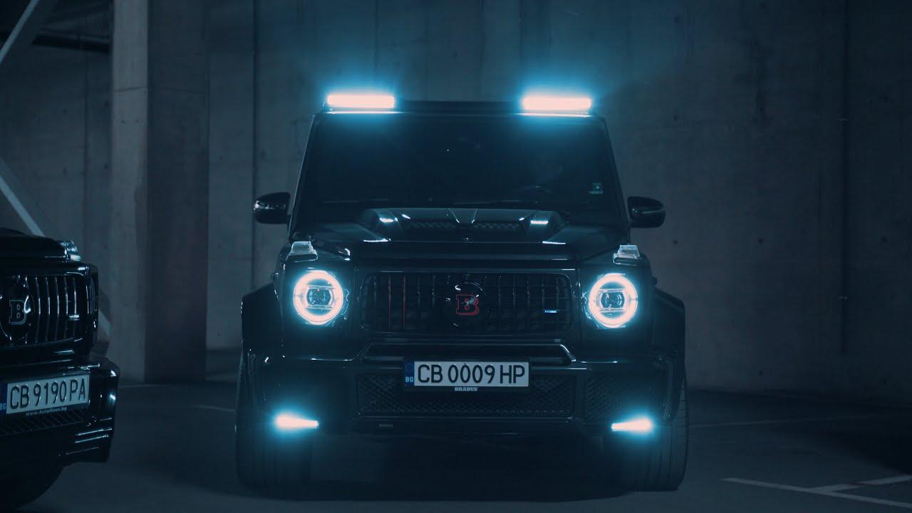 Brabus G700 Widestar Sofia Night Drive   4K