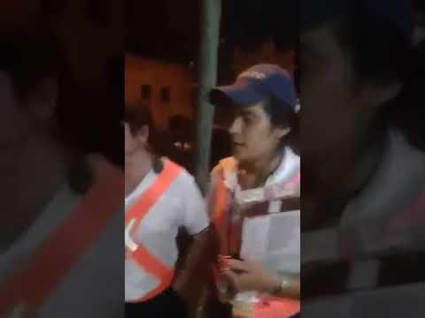 Fuerte discusión en Rotiseria de La Paz