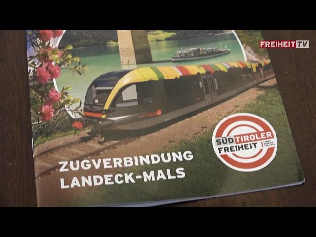 Reschenbahn und Bahntour - Der Filmbericht