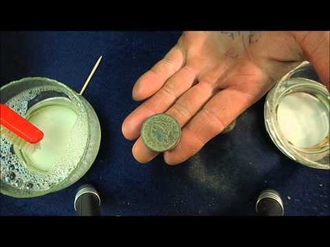 Metal Detecting Hack: How To Clean (or ruin) Copper Coins