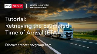 [EN] PTV Map&Guide: ETA - How to retrieve the estimated time of arrival