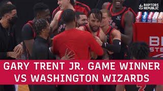 Gary Trent Jr. Game Winner vs Washington Wizards - April 5, 2021