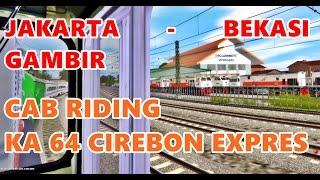 TRAINZ SIMULATOR INDONESIA - Mengemudikan Lokomotif CC 201 KA 64 Cirebon Expres