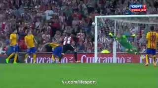 Атлетик 2 0 Барселона   Гол Адуриса(Не забудь подписаться - https://vk.com/bpl_2015., 2015-08-14T21:14:45.000Z)