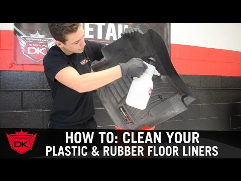 How to Clean Your Plastic or Rubber Floor Mats