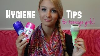 Hygiene Tips for Teenage Girls!