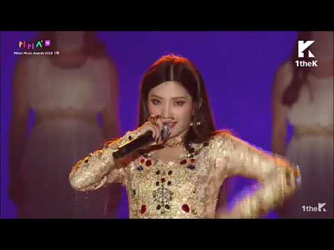 (G)I-DLE 'Melon Music Awards 2018' - Intro + Hann + Dance Break + Soyeon Rap+ Latata