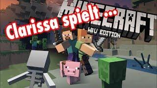 Clarissa spielt Minecraft WiiU