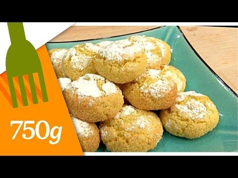 Ghoriba à la semoule et à la noix de coco - 750 Grammes