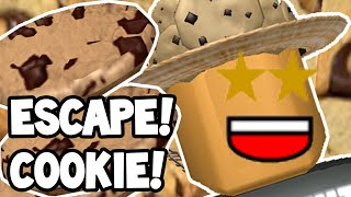 Roblox   ESCAPING THE GIANT COOKIE!   MINECARTS!
