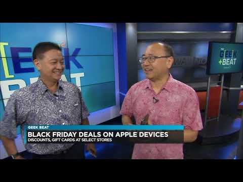 image for Geek Beat - Black Friday Apple Deals, Tesla Cybertruck, Grocery Robots