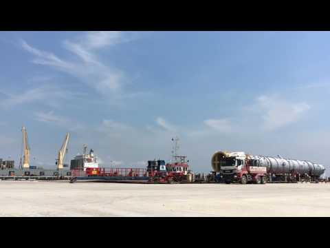 LOADOUT OPERATION FOR 100MT SINOPEC CARGO
