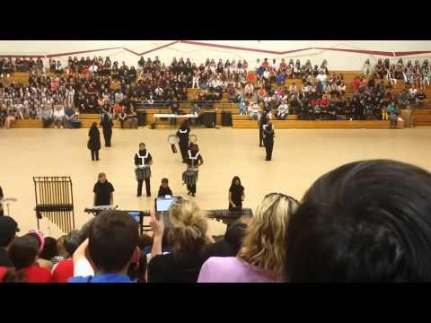 Rivera Middle School Winter Percussion