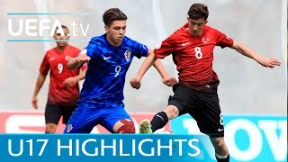 U17 Highlights: Watch Turkey put four past Croatia