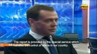 Medvedev 7.12. 2012 l Mimozemský život na Zemi a jeho vplyv na dianie