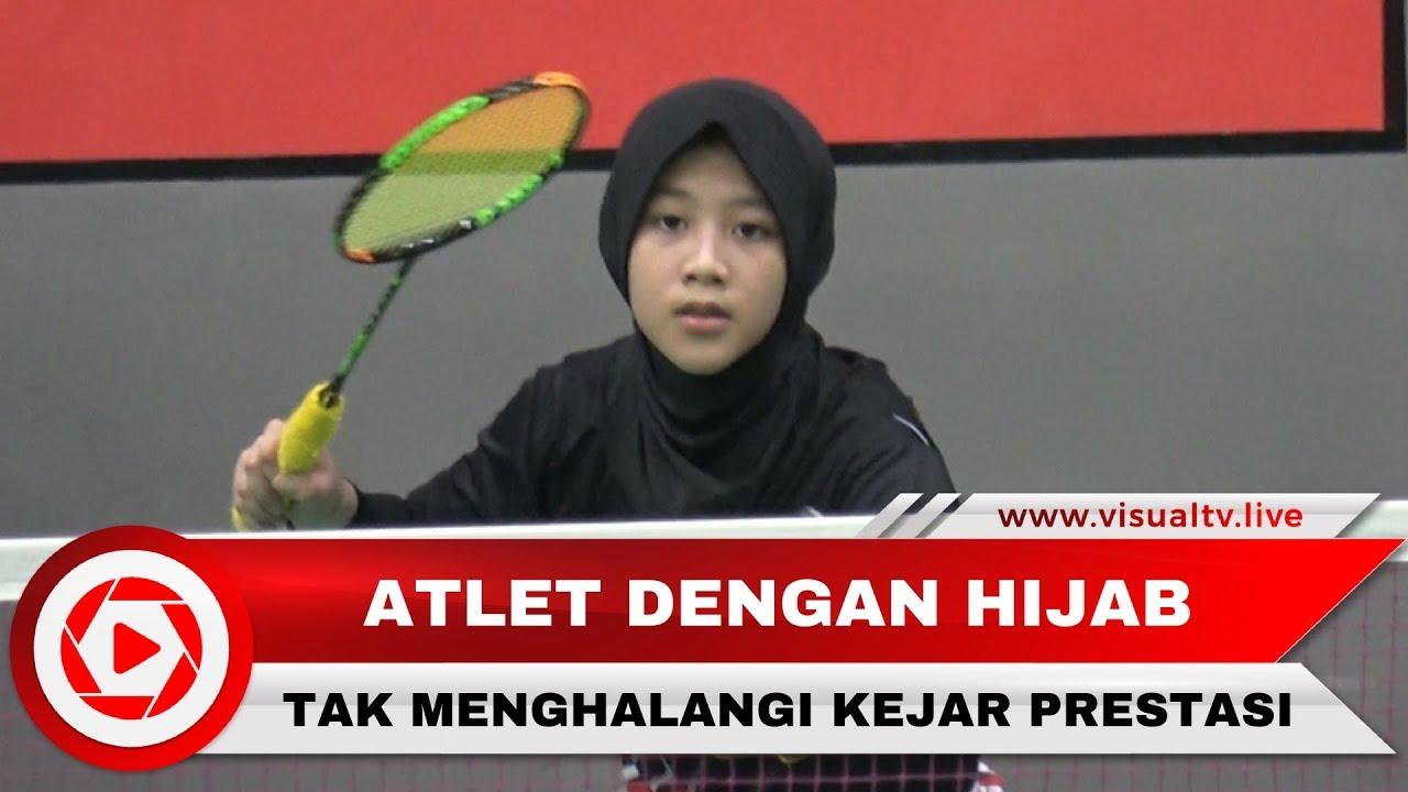 Inspiratif Berhijab Tak Halangi Atlet Bulu Tangkis Junior Mengejar Prestasi