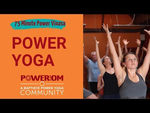 75 Minute Power Vinyasa - Power Of Your Om Yoga Santa Barbara