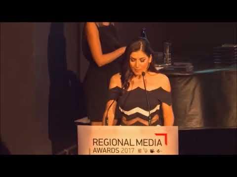 Regional Media Awards 2017 Χριστίνα Κοραή WIND Hellas