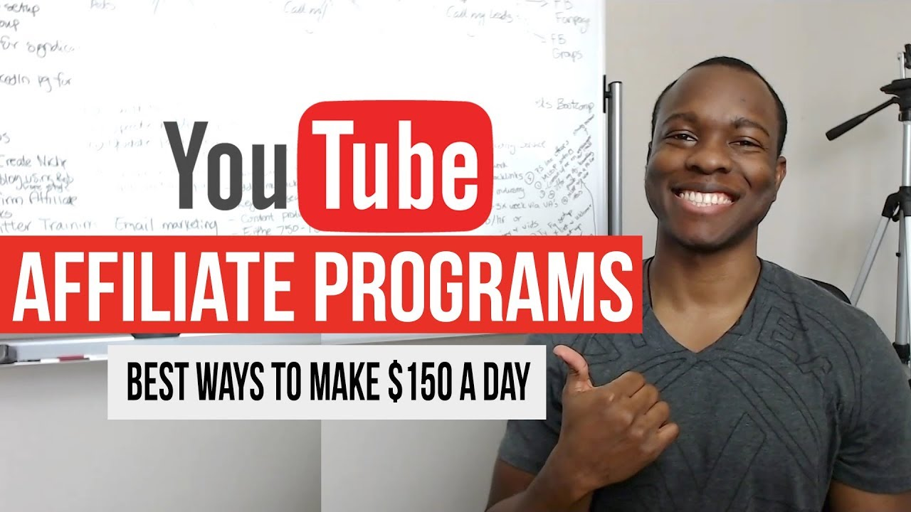 How to Profit From High Paying Affiliate Programs for YouTube: BEST Ways to Make $150/day