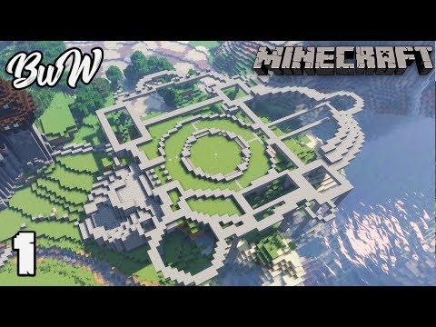 Let S Build A Castle 1 Fantasy Castle Planning Minecraft 1 13 2