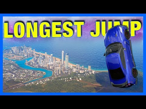 Forza Horizon 3 : JUMP TO SURFERS PARADISE!! **4 Million Horsepower**
