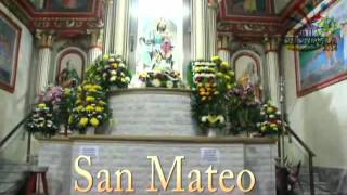 Feria Patronal 2014 en honor a San Mateo Apostol, Chichiquila, Puebla.
