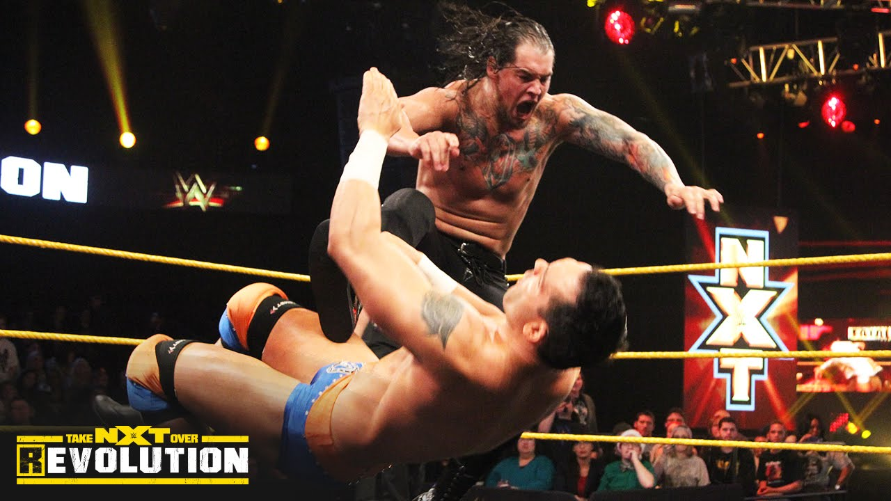 Baron Corbin vs. Tye Dillinger: NXT TakeOver: R Evolution, Dec. 11, 2014 -  YouTube