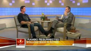 Sylvester Stallone talks Rambo with Matt Lauer